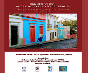 AGAPIC ACTION AND SOCIAL REALITY: SOCIOLOGICAL IMAGINATION TO PROMOTE DEVELOPMENT, TO BUILD THE FUTURE